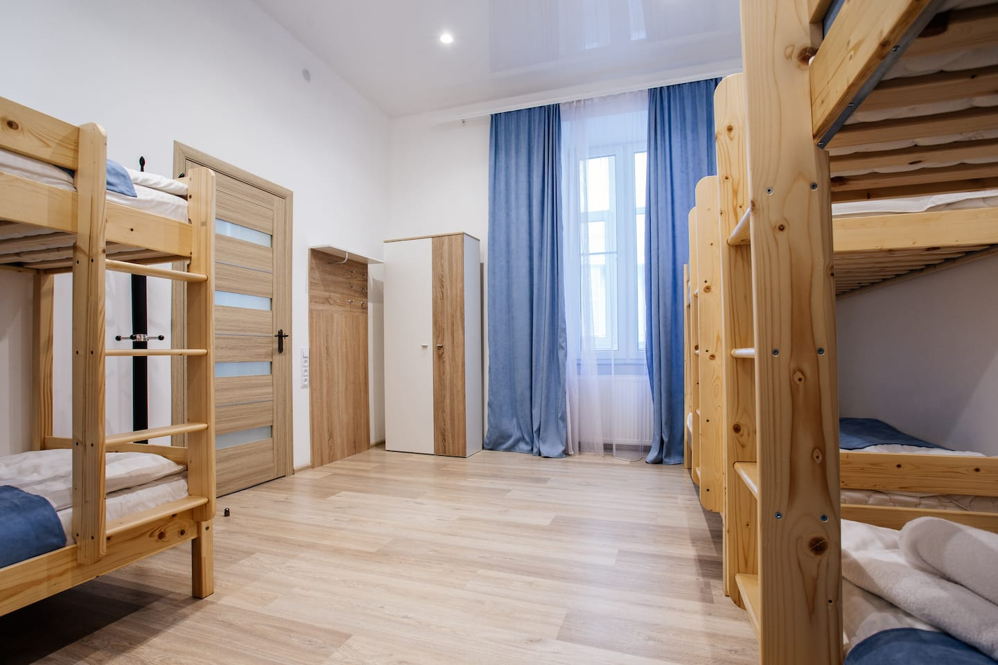 A bed in six-bedded <br> room for men